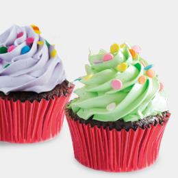 Rainbow Cupcakes at Brownies Unlimited